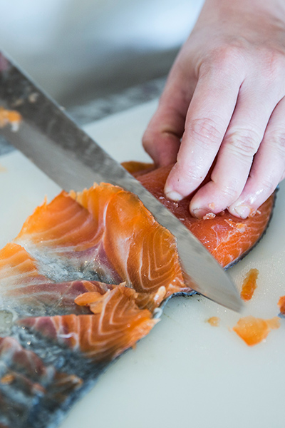 Gin cured salmon foodies magazine for Coleman s fish