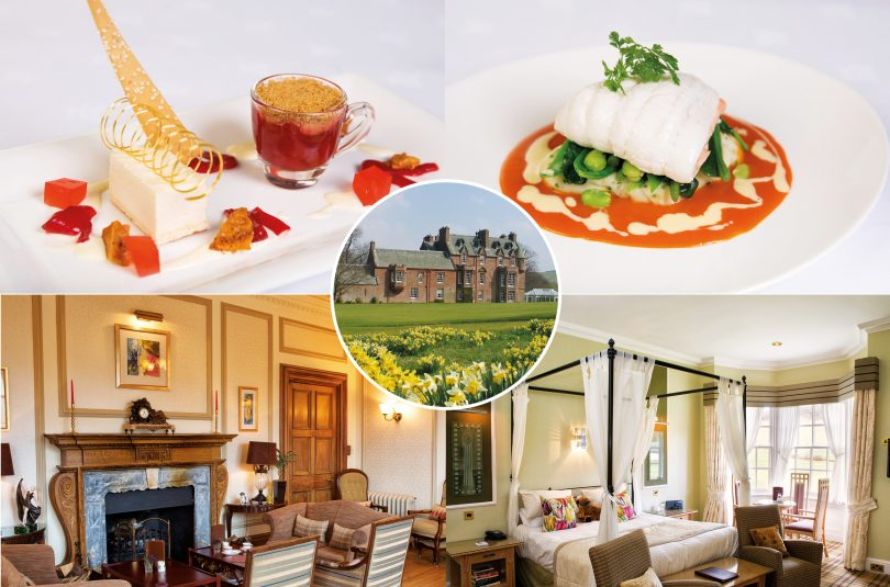 Win a country retreat for two at Cringletie House
