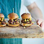 Katy Beskow's 15 Minute Vegan: Chilli Bean Sliders