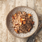 Simon Rogan: Chestnut pasta with truffle sauce & chanterelles