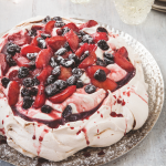 Hairy Bikers: Plum Pavlova