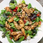 Tom Kerridge's Fresh Start: Asian-style griddled squid salad