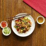 Sweet and sour pork fillet