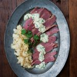 Clodagh Mckenna – Clodagh's Suppers: Corned Beef with Smashed Turnips & Parsley Sauce