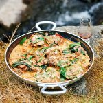 James Martin's Great British Adventure: Whisky Chicken with Wild Mushroom & Mustard Sauce
