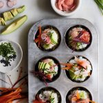 Henry Firth and Ian Theasby's Bish Bash Bosh!: Sushi cupcakes