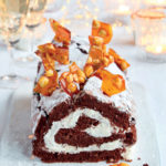 Mary Berry's chocolate and hazelnut boozy roulade