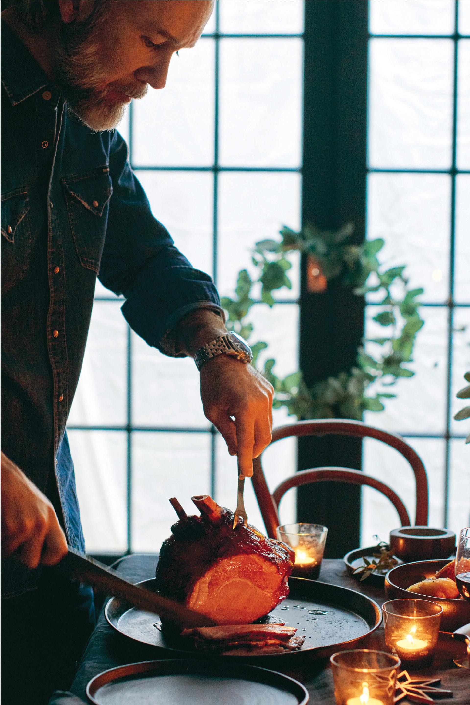 Marcus Wareing's roast ham