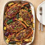 Gordon Ramsay's Moroccan chicken traybake