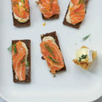 Marcus Wareing's gin-cured salmon