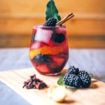 Make your own spiced bramble gin