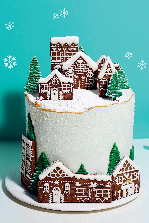 Kim-Joy's Christmas cake