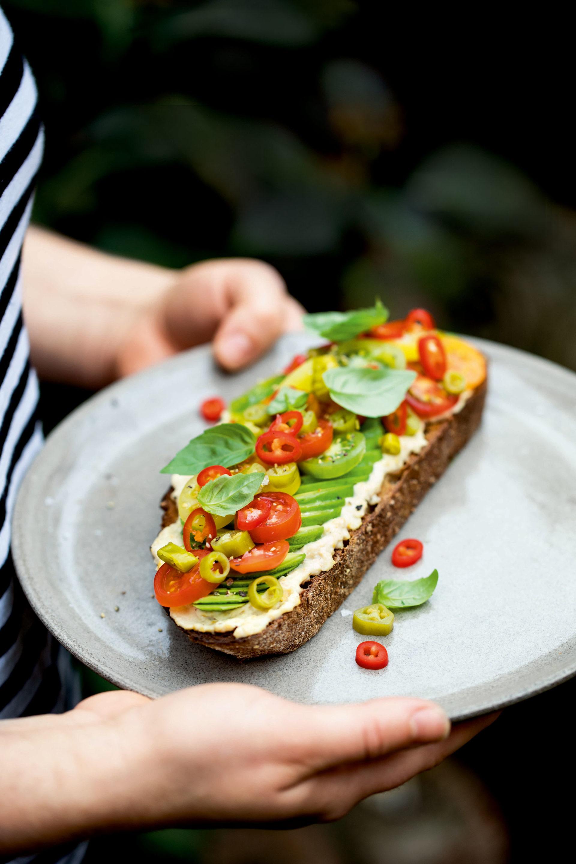 Chilli avocado toast