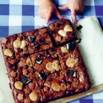 triple threat brownies image