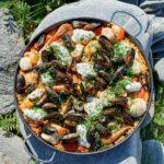 James Martin's Shetland paella